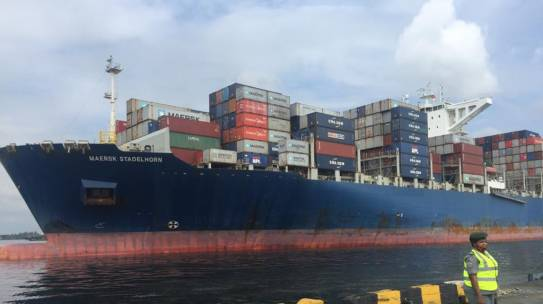 Nigeria Receives Largest Container Vessel In History